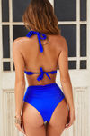 Royal Blue Adjustable Halter Top image