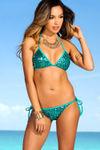 Vegas Jade Single Rise Sequin Scrunch Bottom image