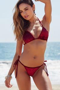 Laguna Wine Velvet Classic Bikini Top image