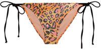 Orange Party Leopard Triangle Top image