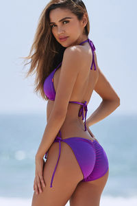 Purple Triangle Top  image