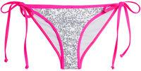 Vegas Pink & White Single Rise Sequin Scrunch Bottom image
