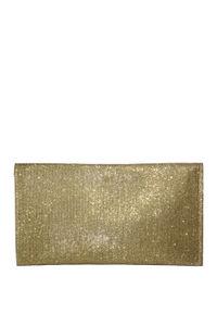 Gold Shimmer Envelope Clutch image