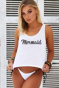 Mermaid Crop Tank image