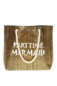 Parttime Mermaid Beach Bag image