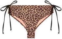 Leopard Full Coverage Mid-Rise Scrunch Bottom image