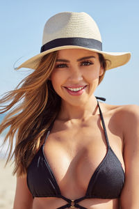 Gold Coast Cream Panama Hat image