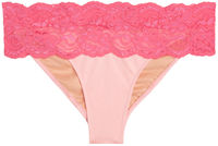 Maui Baby Pink & Pink Lace Classic Band Bottom image