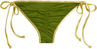 Olive & Gold Classic Scrunch Bottoms image