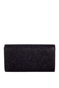 Black Shimmer Envelope Clutch image