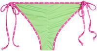 Tokyo Neon Green & Pink Polka Dot Classic Scrunch Bottoms image