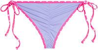 Lilac & Pink Polka Dot Triangle Top image