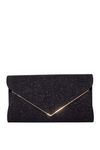 Black Shimmer Envelope Clutch image