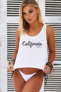 California DOLL Crop Tank image