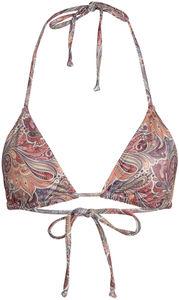 Surfside 70s Paisley Print Triangle Bikini Top image