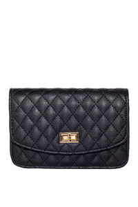 Black Diamond Stitch Clutch  image