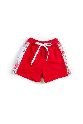 English Rose Red Boys Swim Shorts image
