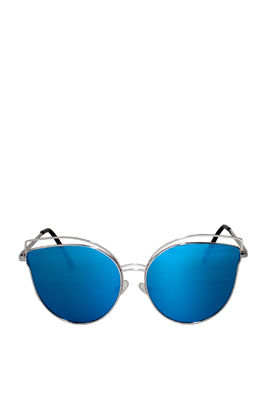 Celeste Blue Cat-Eye Sunglasses image