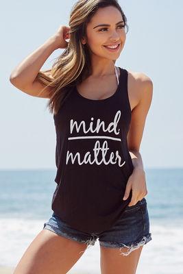 Black Mind Over Matter Tank image