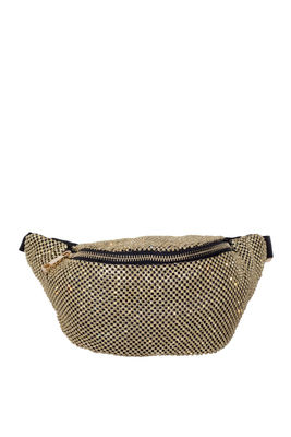 Gold Rhinestone Waist Bag  image