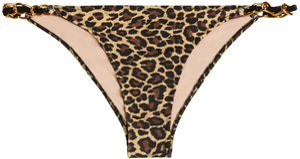 Leopard Classic Bikini On a Chain Bottom image