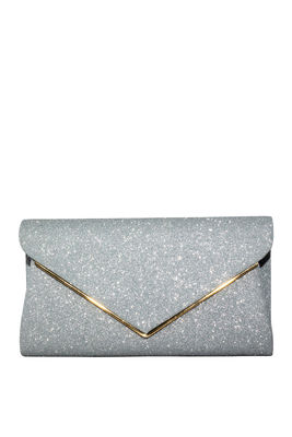 Silver Shimmer Clutch image