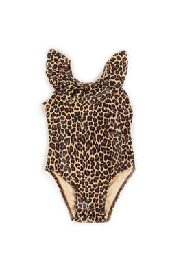 Cleo Leopard Baby/Toddler One Piece Swimsuit image