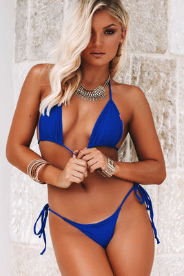 Royal Blue Triangle Top image