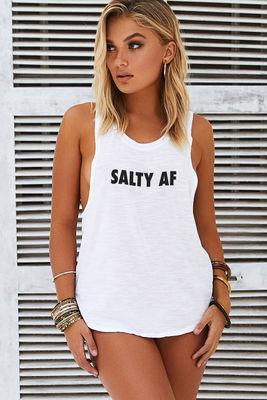 Salty AF Tank image