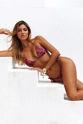Laguna Berry Fern Classic Bikini Top image