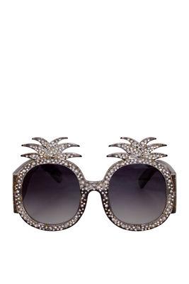 Summer Lovin' Black Pineapple Sunglasses image