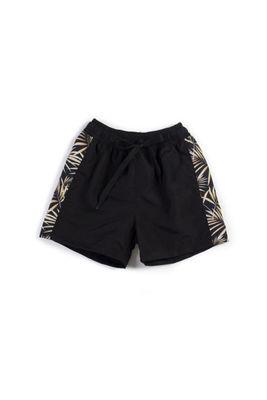 Black Palm Boys Swim Shorts image