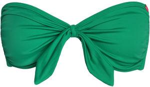 Emerald Green Bandeau Bikini Top image