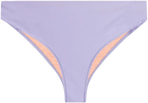 Lilac Full Coverage Mid-Rise Scrunch Banded Bottom image