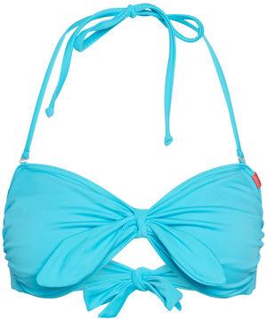 Aqua Blue Bandeau Bikini Top image