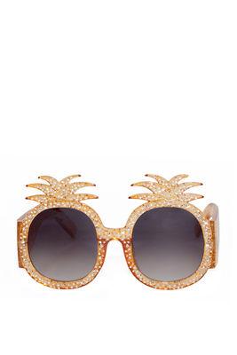 Summer Lovin' Gold Pineapple Sunglasses image