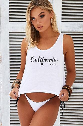 California DOLL Crop Tank