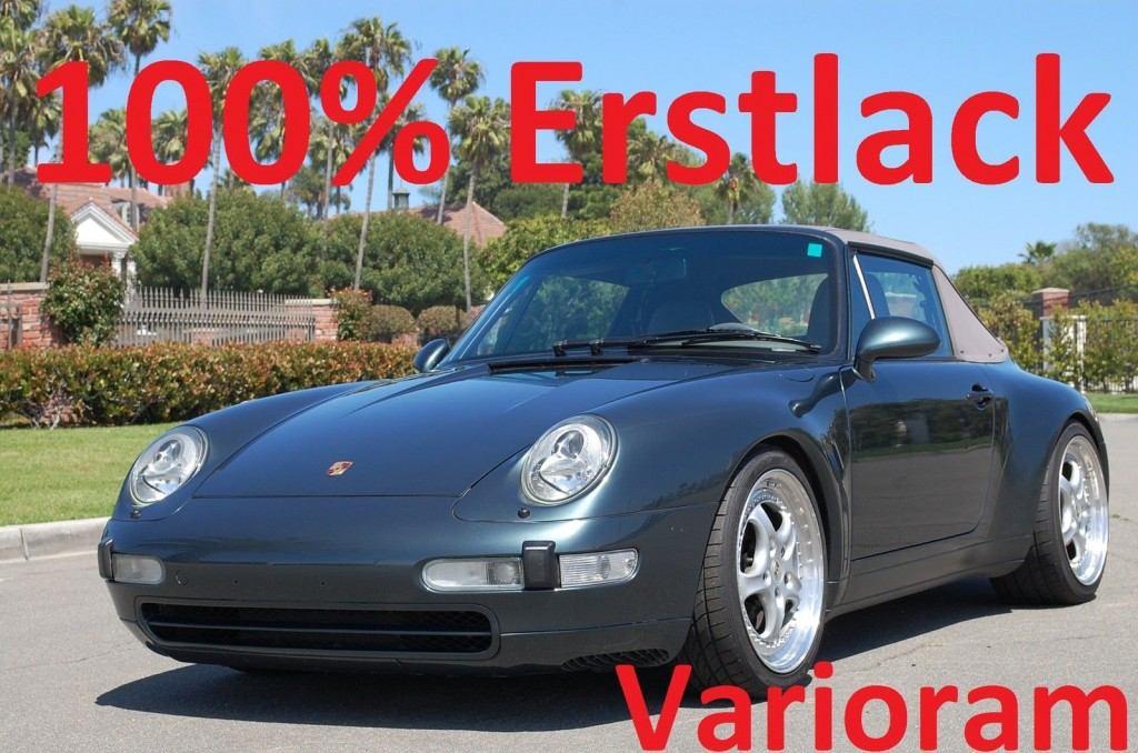 1996 Porsche Carrera Cabriolet 911 993 85.035 km, Aus Erstbesitz, Varioram