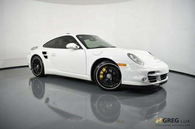 2012 Porsche 911 Turbo S 2dr Car Turbocharged Gas Flat 6 3.8l/232 Carrara White