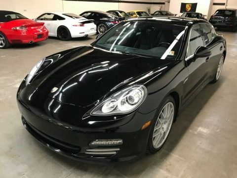 2012 Porsche Panamera 4dr HB 4S 91,000 Miles Black Sedan 4.8L 400.0hp Automatic for sale
