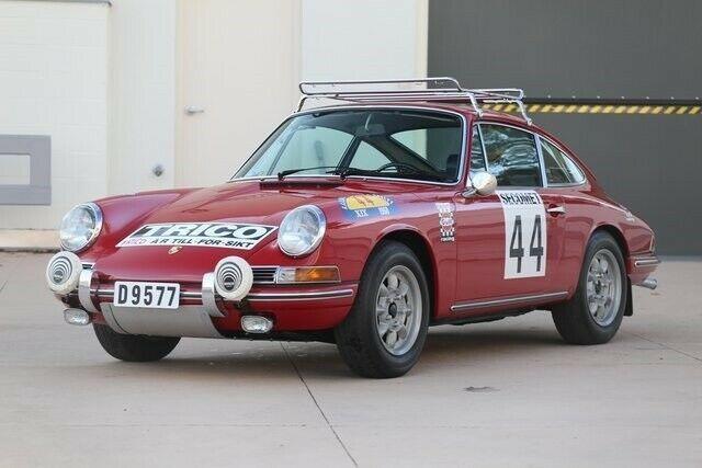 1968 Porsche 912 Swedish Rally