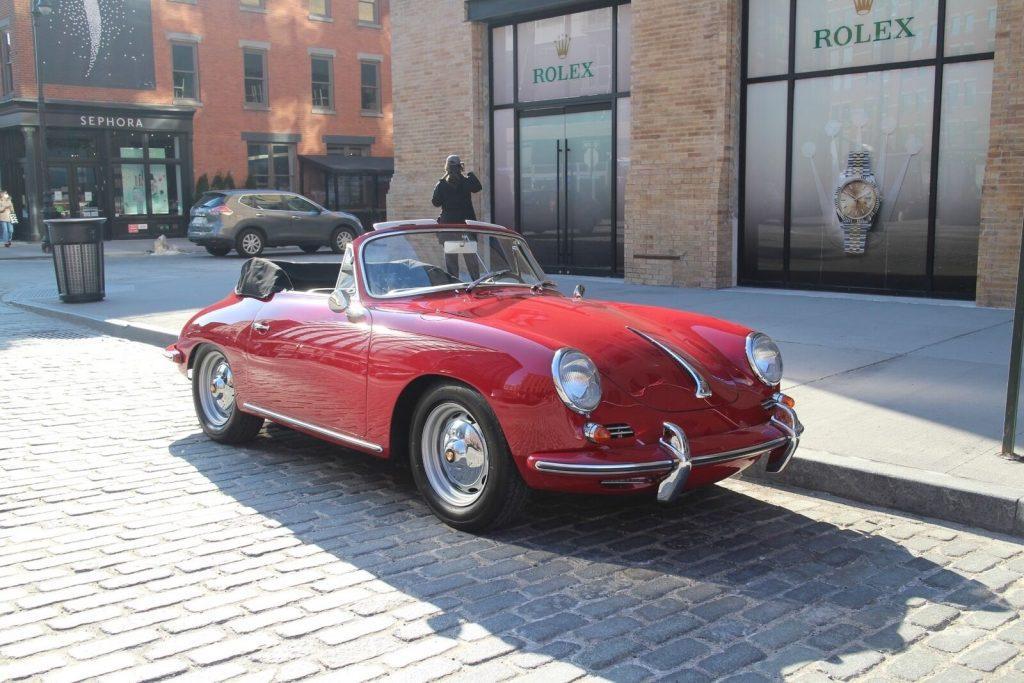 1963 Porsche 356 Super 90 Cabrio