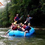 Sangay rafting