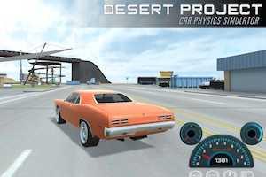Projet de voiture du désert