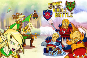 Epic rivals battle