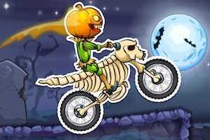 Moto x3m spooky land