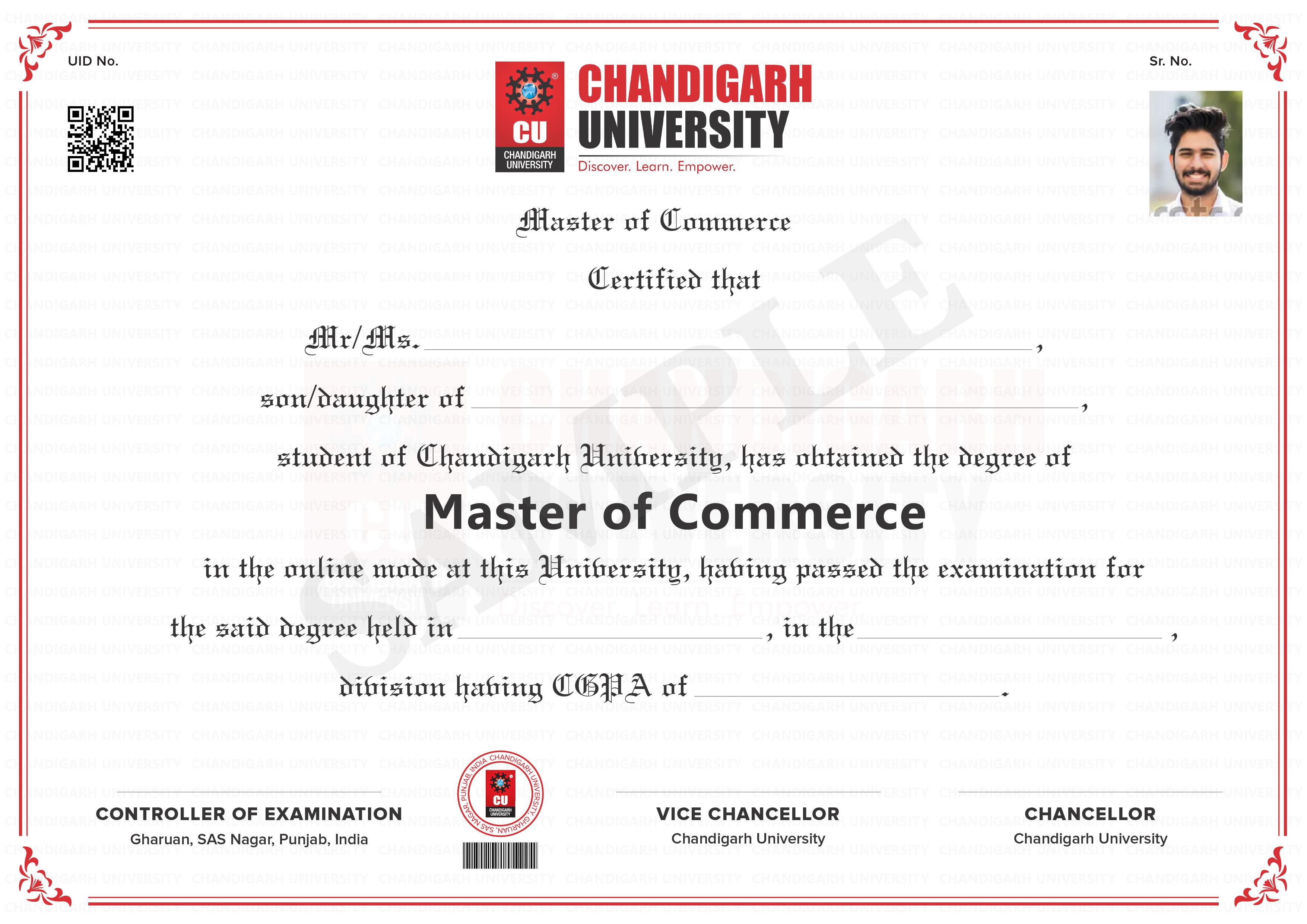 Master of Commerce