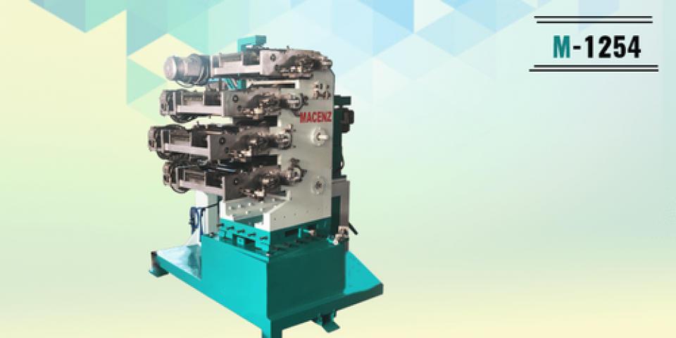 Automatic Model No.-1254(Bo) Dry Offset Printing Machine