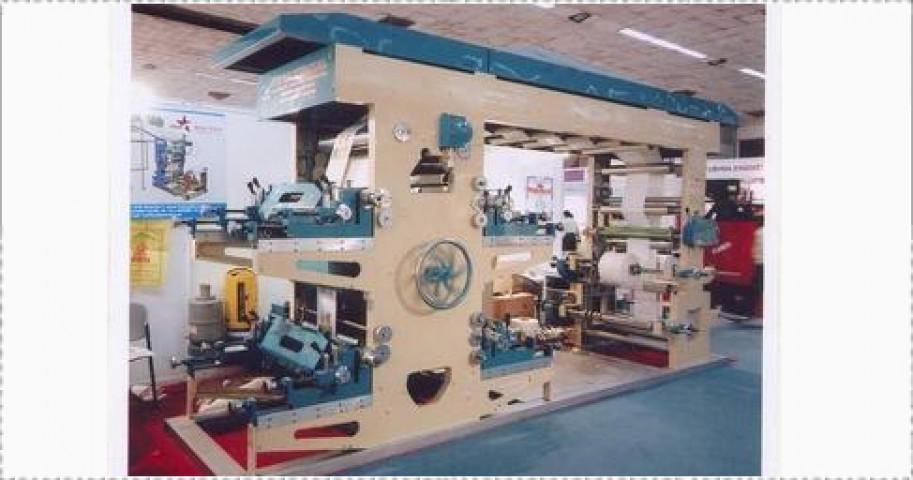 Flexographic Printing Machine - 4 Color