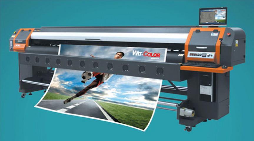 Automatic Solvent Printer